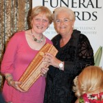 Jean with 'Pat Butcher' of EastEnders