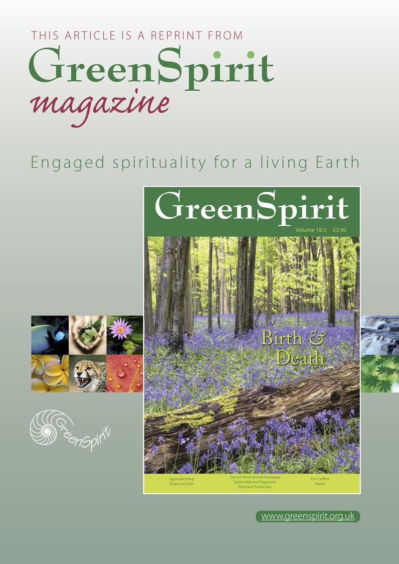 GreenSpirit Winter 2016 (article featuring Jean Francis)